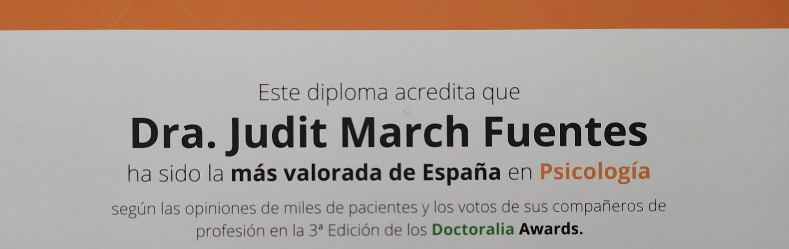 psicólogos, psicologos, psicólogos en barcelona, premio psicóloga, mejor psicóloga de Barcelona